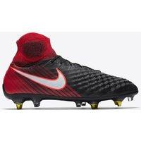 Nike Magista Obra III Anti-Clog Soft Ground Pro Football Boots - Red