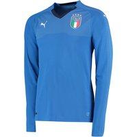 Italy Home Shirt 2018 - Long Sleeve