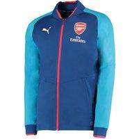 Arsenal Training Stadium Jacket - Blue