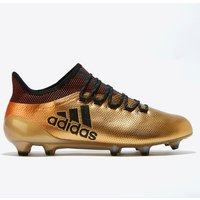 Adidas X 17.1 Firm Ground Football Boots - Gold