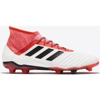 adidas Predator 18.2 Firm Ground Football Boots - White