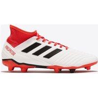Adidas Predator 18.3 Firm Ground Football Boots - White