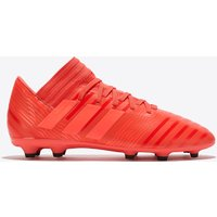Adidas Nemeziz 17.3 Firm Ground Football Boots - Coral - Kids