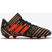 Adidas Nemeziz Messi 17.3 Firm Ground Football Boots - Black - Kids