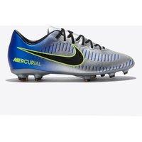 Nike Neymar Jr. Mercurial Vapor XI Firm Ground Football Boots - Chrome - Kids