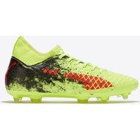 Puma Future 18.3 Firm Ground Football Boots - Fizzy Yellow/red Blast/puma Black