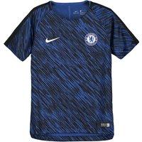 Chelsea Squad Pre Match Training Top - Dk Blue - Kids