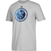 New York City FC Smoke Out T-Shirt - Lt Grey