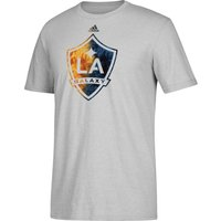 LA Galaxy Smoke Out T-Shirt - Lt Grey