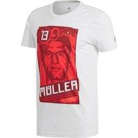 adidas Thomas Mueller Graphic T-Shirt - White
