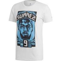 adidas Luis Suarez Graphic T-Shirt - White