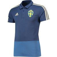 Sweden Training Polo - Blue