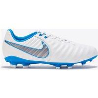 Nike Tiempo Legend 7 Academy Firm Ground Football Boots - White - Kids