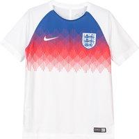 England Squad Graphic Training Top - White - Kids