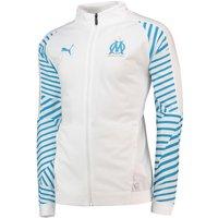 Olympique de Marseille Training Stadium Jacket - White