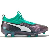 Puma One 1 Leather Firm Ground Football Boots - Blue