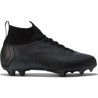 Nike Mercurial Superfly 6 Elite Firm Ground Football Boots - Black - Kids