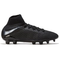 Nike Hypervenom Phantom 3 Pro Dynamic Fit Firm Ground Football Boots - Black