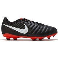 Nike Tiempo Legend 7 Academy Multi-Ground Football Boot - Black/Red - Kids