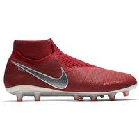 Nike Phantom Vision Elite Dynamic Fit Anti-Clog Soft Ground Football Boots - Red