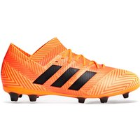 Adidas Nemeziz 18.1 Firm Ground Football Boots - Orange- Kids