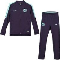 Barcelona Squad Knit Tracksuit - Purple - Kids