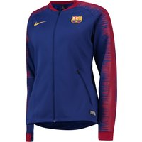 Barcelona Anthem Jacket - Royal Blue - Womens