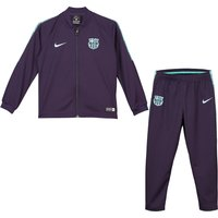 Barcelona Squad Knit Tracksuit - Purple - Little Kids