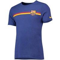 Barcelona Crest T-Shirt - Royal Blue