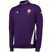 Acf Fiorentina 1/4 Zip Training Top - Purple