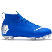 Nike Mercurial Superfly 6 Elite Firm Ground Football Boots - Blue - Kids
