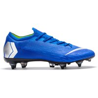 Nike Mercurial Vapor 12 Elite Anti-Clog Soft Ground Pro Football Boots - Blue