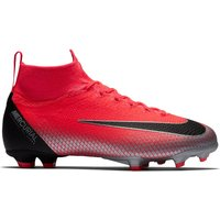 Nike Mercurial Superfly 6 Elite CR7 Firm Ground Football Boots - Red - Kids
