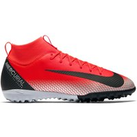 Nike MercurialX Superfly 6 Academy CR7 Astroturf Trainers - Red - Kids