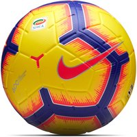Nike Serie A Merlin Official Match Football - Yellow - Size 5