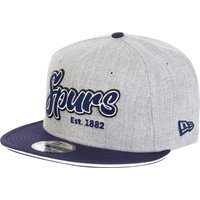 Tottenham Hotspur New Era 9Fifty Script Cap - Gray/Navy - Adult