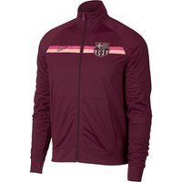 Barcelona Core Trainer Jacket - Maroon