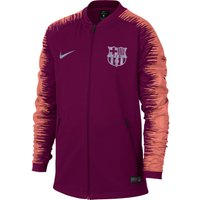 Barcelona Anthem Jacket - Maroon - Kids