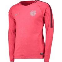 Barcelona Pre-Match Top - Long Sleeve - Pink