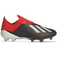 adidas X 18.1 Firm Ground Football Boots - Black