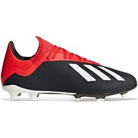 Adidas X 18.3 Firm Ground Football Boots - Black