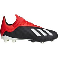 adidas X 18.3 Firm Ground Football Boots - Black - Kids