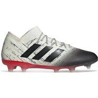 Adidas Nemeziz 18.1 Firm Ground Football Boots - White