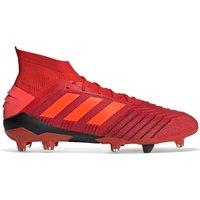 Adidas Predator 19.1 Firm Ground Football Boots - Red