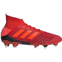 Adidas Predator 19.1 Soft Ground Football Boots - Red