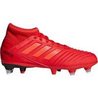 Adidas Predator 19.3 Soft Ground Football Boots - Red - Kids