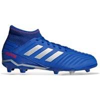 adidas Predator 19.3 Firm Ground Football Boots - Blue - Kids