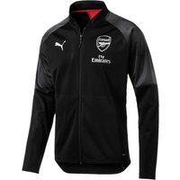 Arsenal Training Stadium Jacket - Black