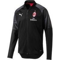 AC Milan Training Stadium Jacket - Black