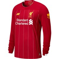 Liverpool Home Shirt 2019-20 - Long Sleeve - Kids